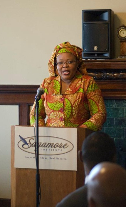 Leymah Gbowee Reception
